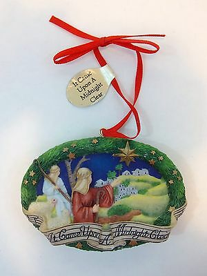 VTG Danbury Mint IT CAME UPON A MIDNIGHT CLEAR Ornament Musical Song Series HTF
