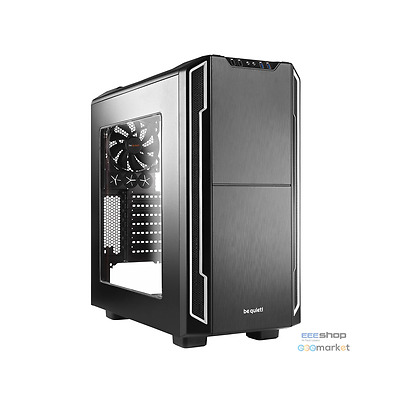 be quiet! Silent Base 600 Midi-Tower - silber Window BGW07