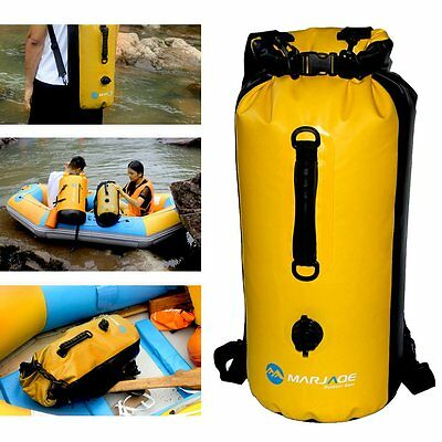 20L 30L Waterproof Dry Bag Backpack Storage F Rafting Boating Kayak Floating LXH