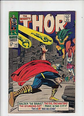The Mighty Thor #143 (Marvel 1967) VG Kirby