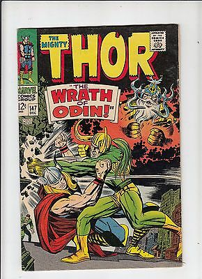 The Mighty Thor #147 fine (Marvel 1967) origin of the Inhumans!  Kirby!
