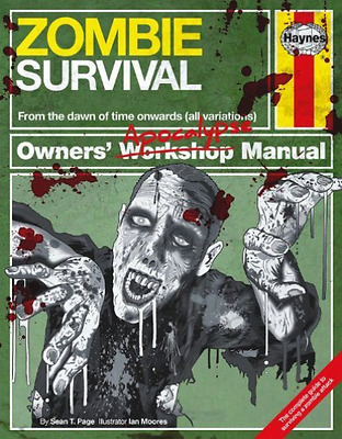 Zombie Survival Manual  Book New