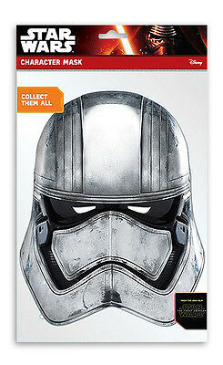 Star Wars Episode 7 Party Captain Phasma Mask