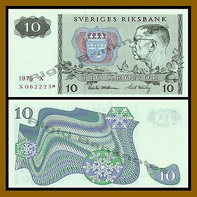 Sweden 10 Kronor, 1975 P-52 Replacement * Star Unc