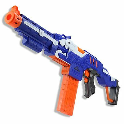 Electric Soft Bullet Toy Gun nerf Shooting Submachine Gun Outdoor Toys For Kids