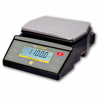 Jennings TB11000 High Capacity Counting Scale Dual Display 11000g x 0.5g RS232