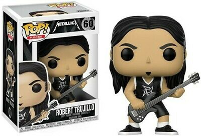 Metallica - FUNKO POP! ROCKS: Metallica - Robert Trujillo [New Toys] Vinyl Figur