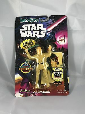 Star Wars Bend-ems Luke Skywalker Figure with Limited Edition Trading Card