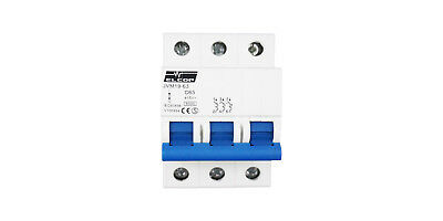 Elcop 3P 63A Circuit Breaker (MCB)  6kA  (AUSTRALIAN APPROVED, 3 YEAR WARRANTY)