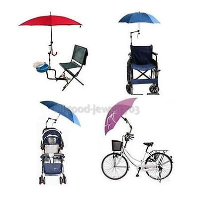 Umbrella Connector Holder for Wheelchair Bicycle Pushchair Stroller Pram Swivel