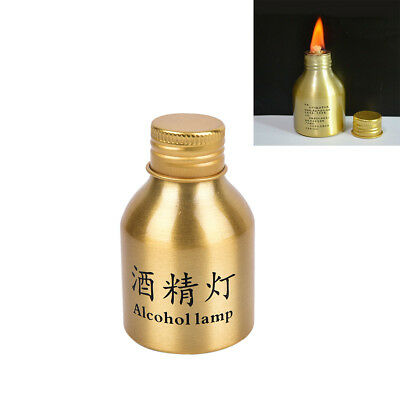 1pc portable mini 50ml alcohol burner lamp metal case lab equipment heating WB