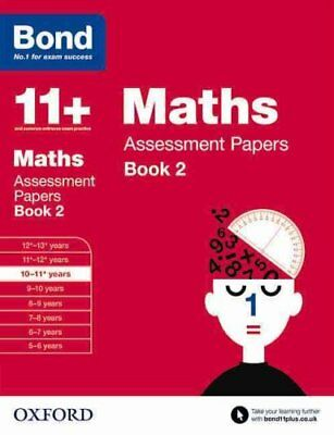Bond 11+: Maths: Assessment Papers 10-11+ years Book 2 9780192740175