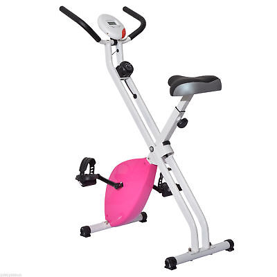 Soozier Folding Magnetic Upright Bike Fitness Exercise Bicycle Cycling Machine