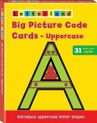 Wendon, Lyn-Big Picture Code Cards - Uppercas  Ac New
