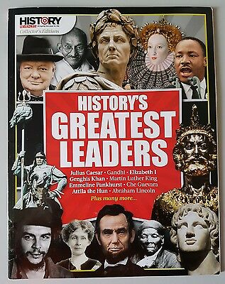 History Revealed Magazine Collector's Edition History's Greatest Leader's