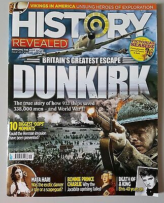 History Revealed Magazine Issue 45 August 2017 Free Postage.