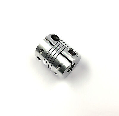 1 of  BR6.35mm x 10mm CNC Stepper Motor Shaft Coupling Flexible Coupler D25L30