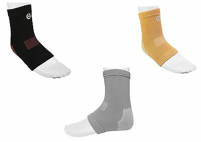 Solace Care New Elastic Ankle Brace AE Support Pain Sprain Guard Sports (PAIR)