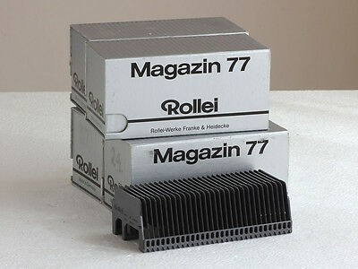 Rollei 6x6 Slide Projector Magazines (x4)