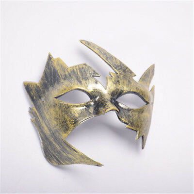 Men Maple Leaves Retro Mask Cutout Eye Mask For Masquerade Party Halloween New