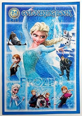Large Frozen Colouring book Drawing Book Paper Back New girls gift