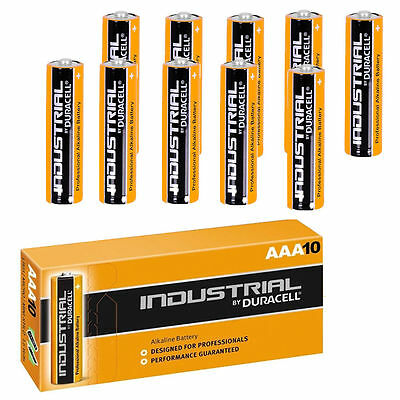 20 AAA DURACELL INDUSTRIAL BATTERIES PROFESSIONAL ALKALINE REPLACES PROCELL 20pk