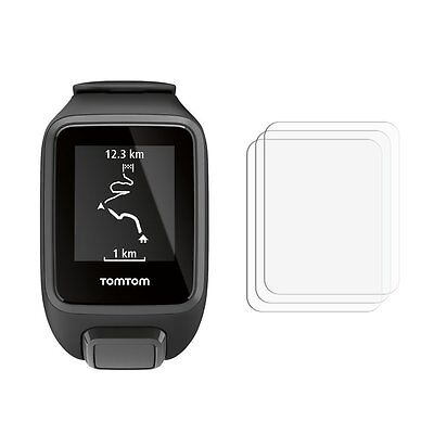 2 New Screen Protectors For Smart Watch TomTom Spark 3 HD