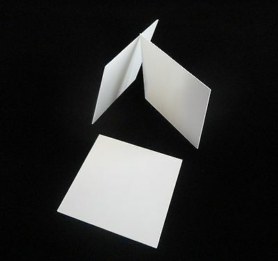 "THIN 4"" X 4"" CONTROLLED POROSITY ALUMINA CERAMIC SUBSTRATE SHEET No.: 511"