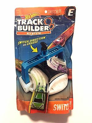 NEW Hot Wheels Track Builder System Switch It Accessory Set E