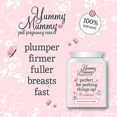 Yummy Mummy After Birth Boobjob Breast Tablets Increase Bra Cup Size Fast