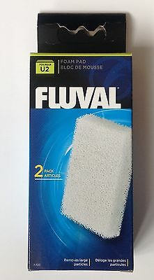 Fluval U2 Foam Filter Pads Pack of 2 Filter Replacement