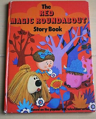 Rare Vintage 1973 The Red Magic Roundabout Story Book.
