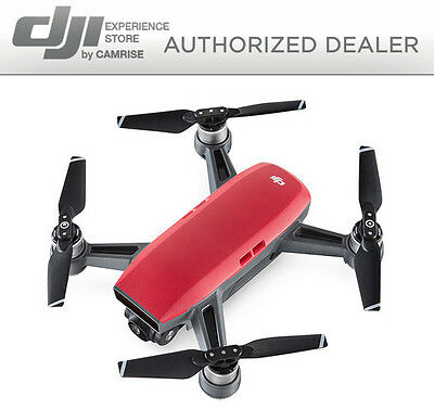 DJI Spark Drone Quadcopter Red CP.PT.000735 FREE 16GB MICRO SD