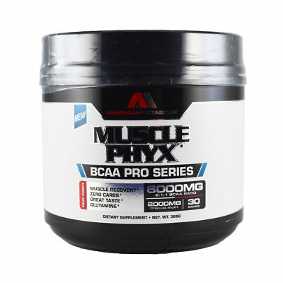 American Metabolix MUSCLE PHYX MUSCLEPHYX BCAA Formula, 30 Servings - 2 Flavors