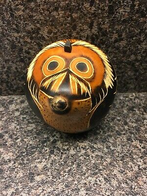 Decorative Carved Dried Gourd