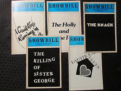 SHOWBILL Magazine LOT of 5 Sister George / ladyhouse / Holly Ivy / Knack / Place