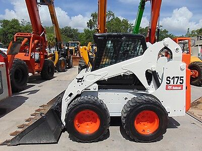 "2010 Bobcat S-175 ""enclosed Comfort Cab"" Big Wheel Skid Loader -"