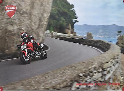 Ducati Monster 796 front 19x27 Two-sided Promotional Poster