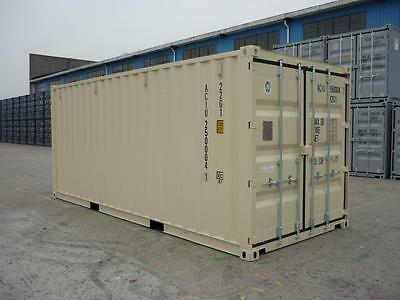 STORAGE CONTAINERS: NEW 20' CARGO SHIPPING CONTAINER (Long Beach, CA)