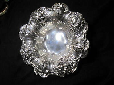 "Reed & Barton 'Francis I' Sterling Silver x569 Medium Bon Bon  8"" Bowl or Dish"