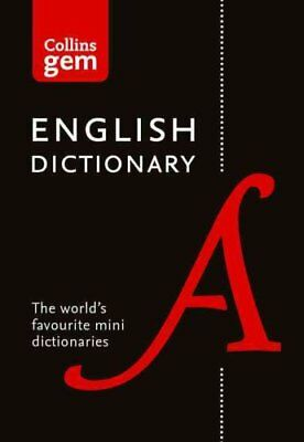 Collins English Dictionary Gem Edition 85,000 Words in a Mini F... 9780008141677
