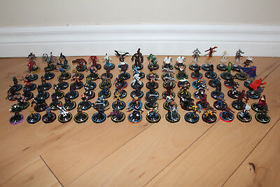 MARVEL HEROCLIX WizKids ** HUGE LOT OF 92 FIGURINES ** RARE / L@@K