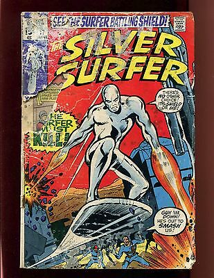 Silver Surfer #17 GD Trimpe Buscema Nick Fury SHIELD Fantastic Four Mephisto