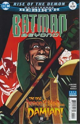 Batman Beyond #11 [2016] - Rise of the Demon FINALE - DIGITAL CODE ONLY