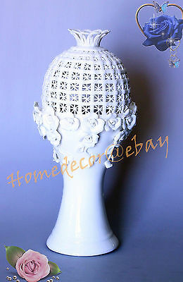 Luxury Quality Ceramic Vase - Handmade from Fine China - 32 cm Height - On Sale
