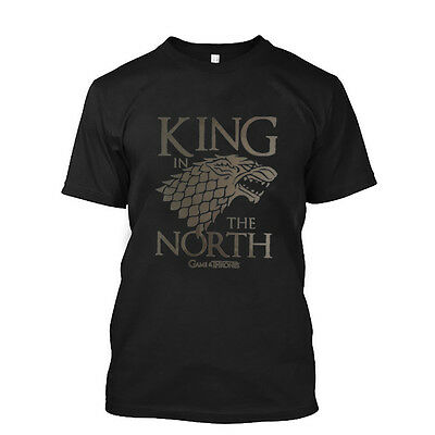 Men's Tops Tees 2018 new fashion the Game of Thrones Mens  cotton Casual t-SHIRT