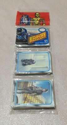 """1980 Topps """"The Empire Strikes Back - Series 2"""" - Movie Photo Cards Rack Pack"""