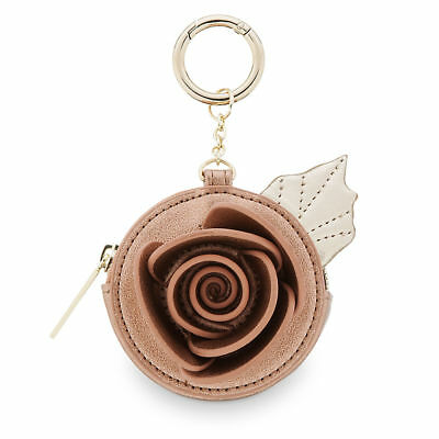 DISNEY / DANIELLE NICOLE Coin Purse ENCHANTED ROSE - BEAUTY and the BEAST NEW