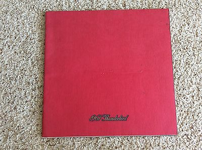 1967 Ford  Thunderbird original dealership showroom deluxe color sales catalogue