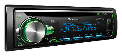 New Pioneer DEH-S5050BT Aux Usb Iphone Android Bluetooth Car Stereo DEHS5050BT